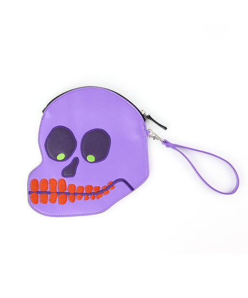 Skull Purse x David Shrigley