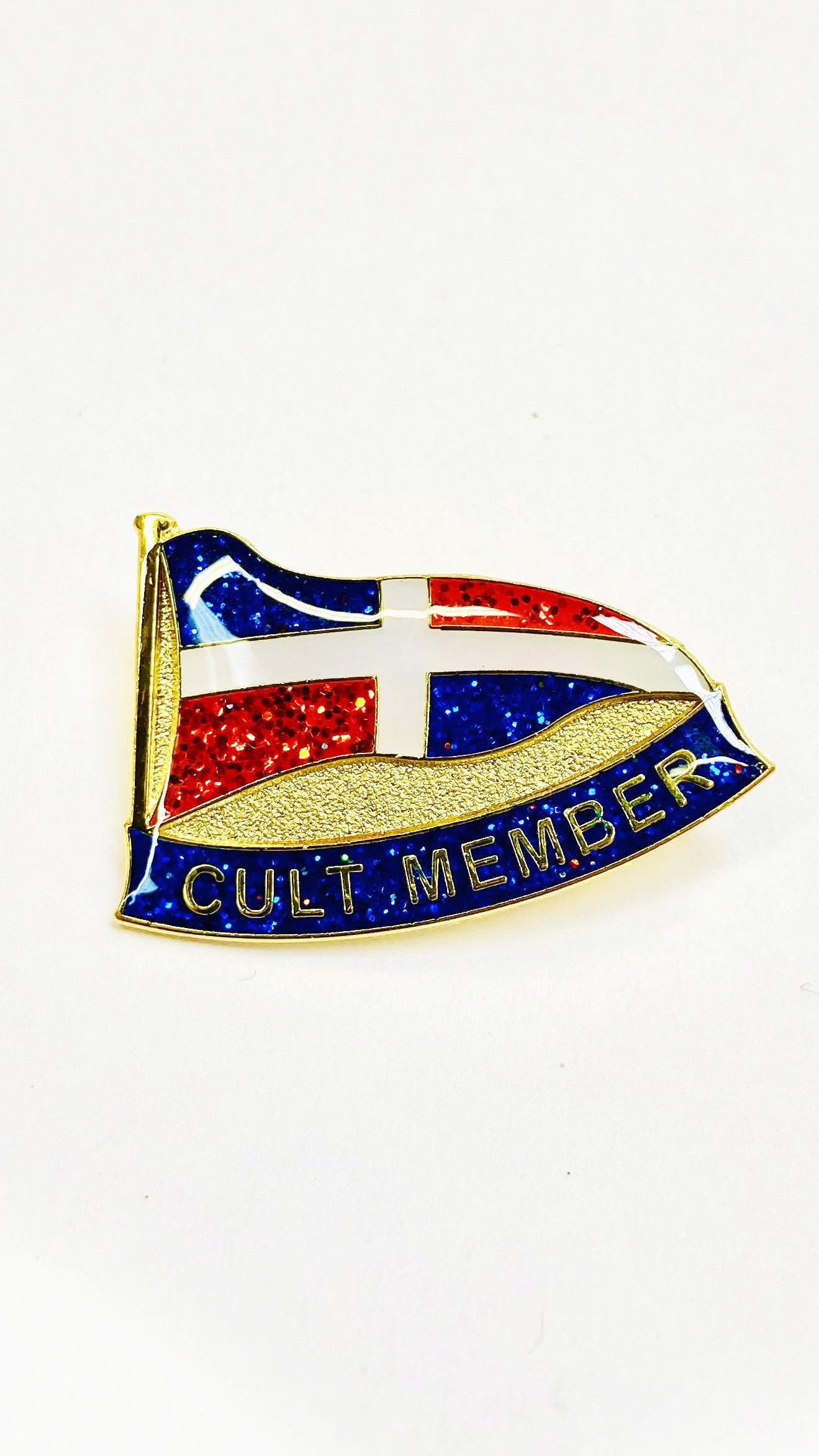 WORLD Enamel Badge - CULT MEMBER