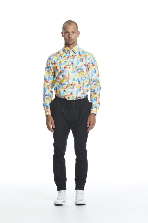 WORLDman 4480 Vonnegut Shirt Painterly