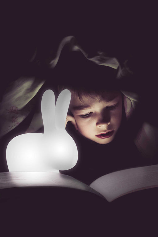 Qeeboo XS Rabbit Rechargeable Lamp Translucent