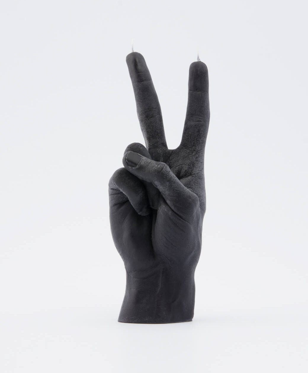 Hand Gesture Candle Victory Black