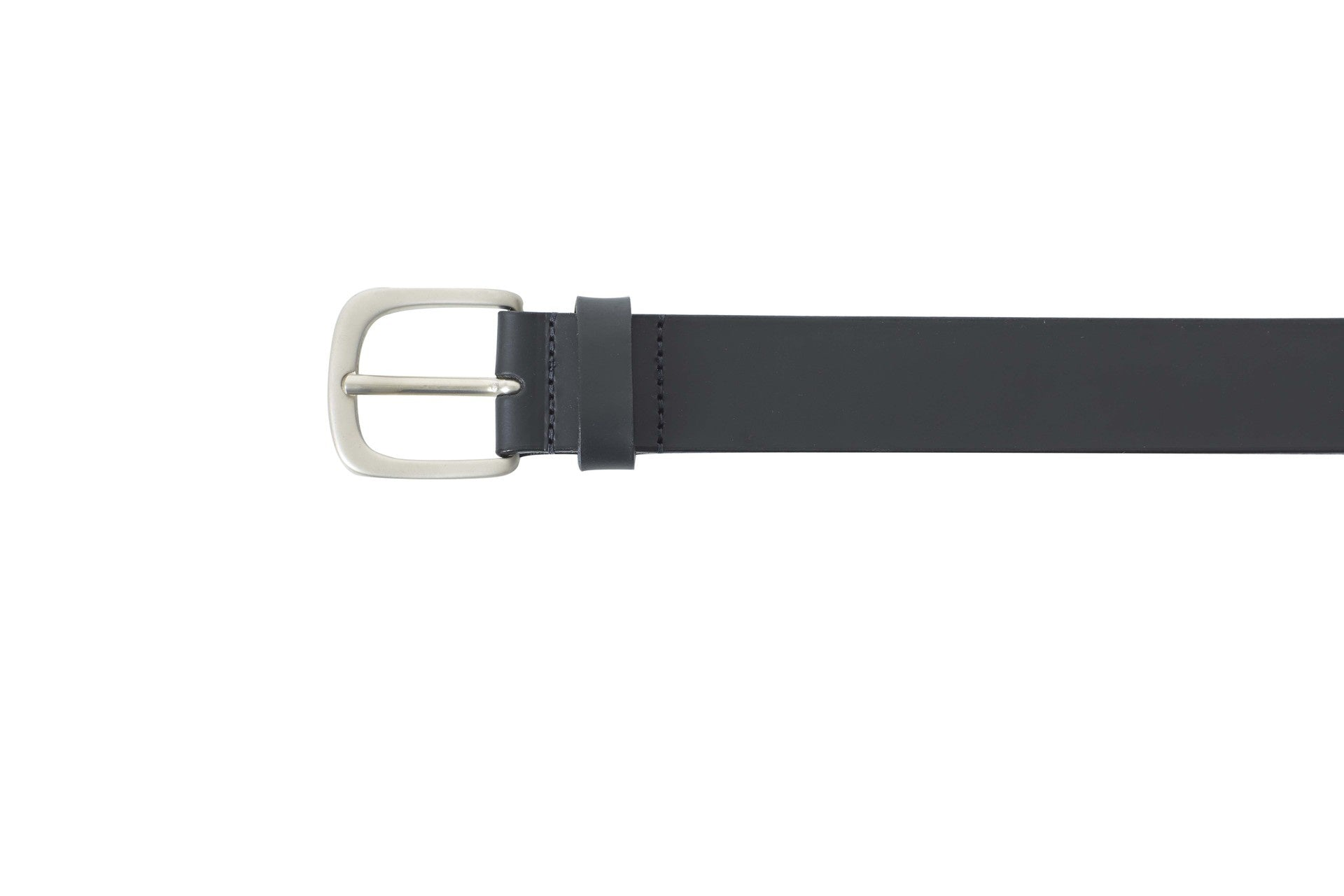 WORLD Leather Belt Black