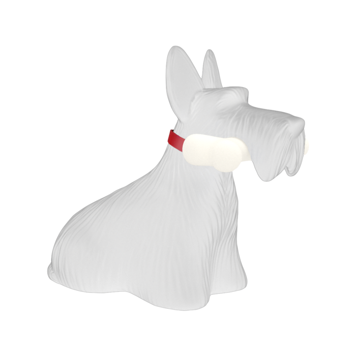 Qeeboo Scottie Lamp White