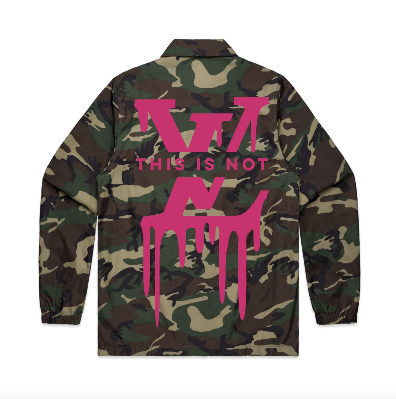 Vol.1 This is Not LV Jacket Camoish - Unisex