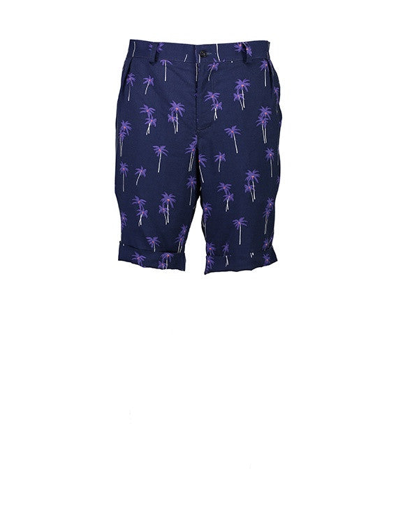 WORLDman 4206 Principality Short Navy Palm