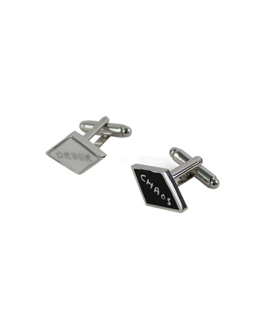 Order & Chaos Cufflinks x David Shrigley