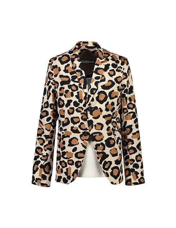 WORLDman 4204 Luchino Visconti Blazer Leopard