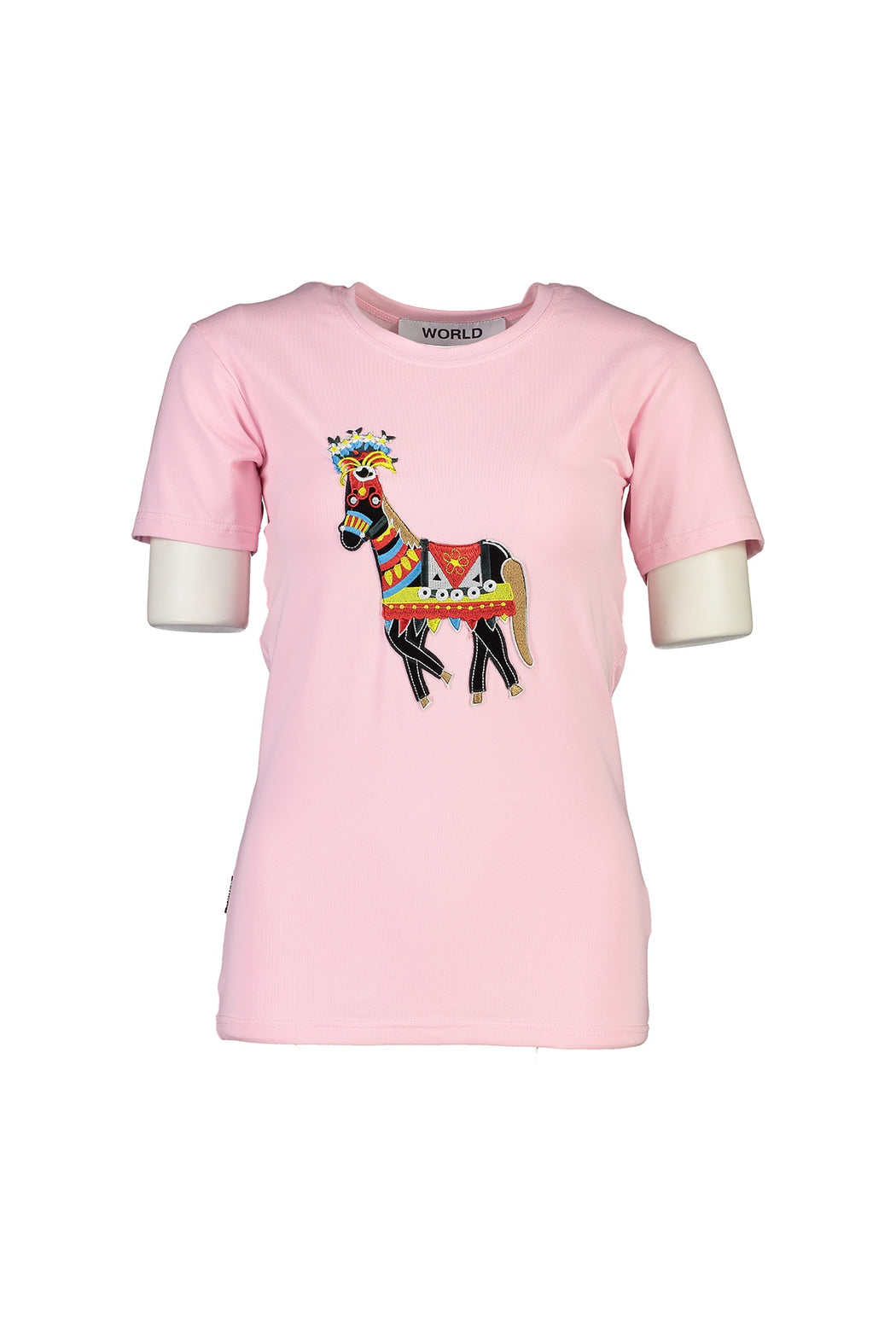 WORLD 4501 Two Wrongs T (Unisex) Pink