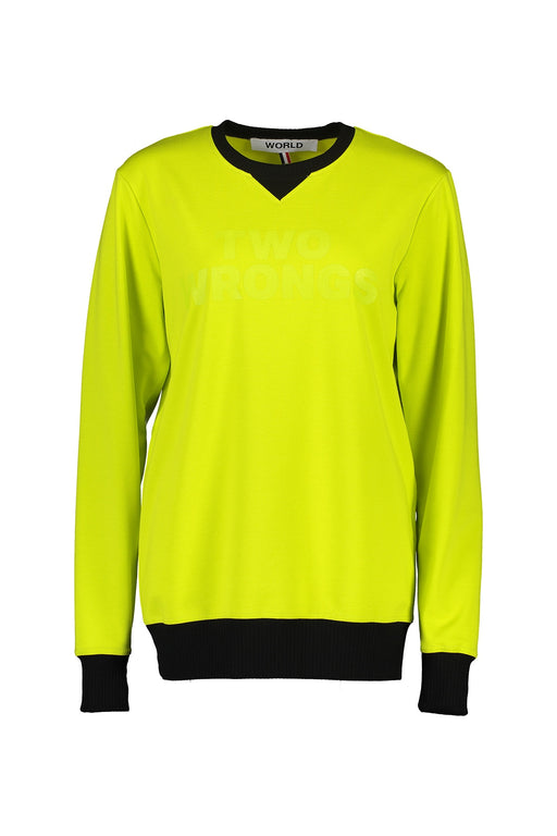 WORLD 4502 The Lover Jumper (Unisex) Fluro