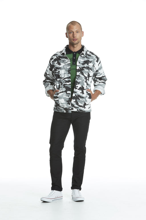WORLDman 4488 Leon Jacket Black Camo