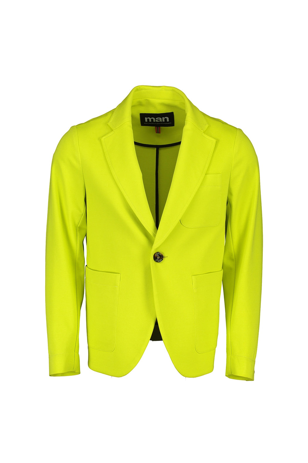 WORLDman 4561 Erratic Jacket Fluro Yellow