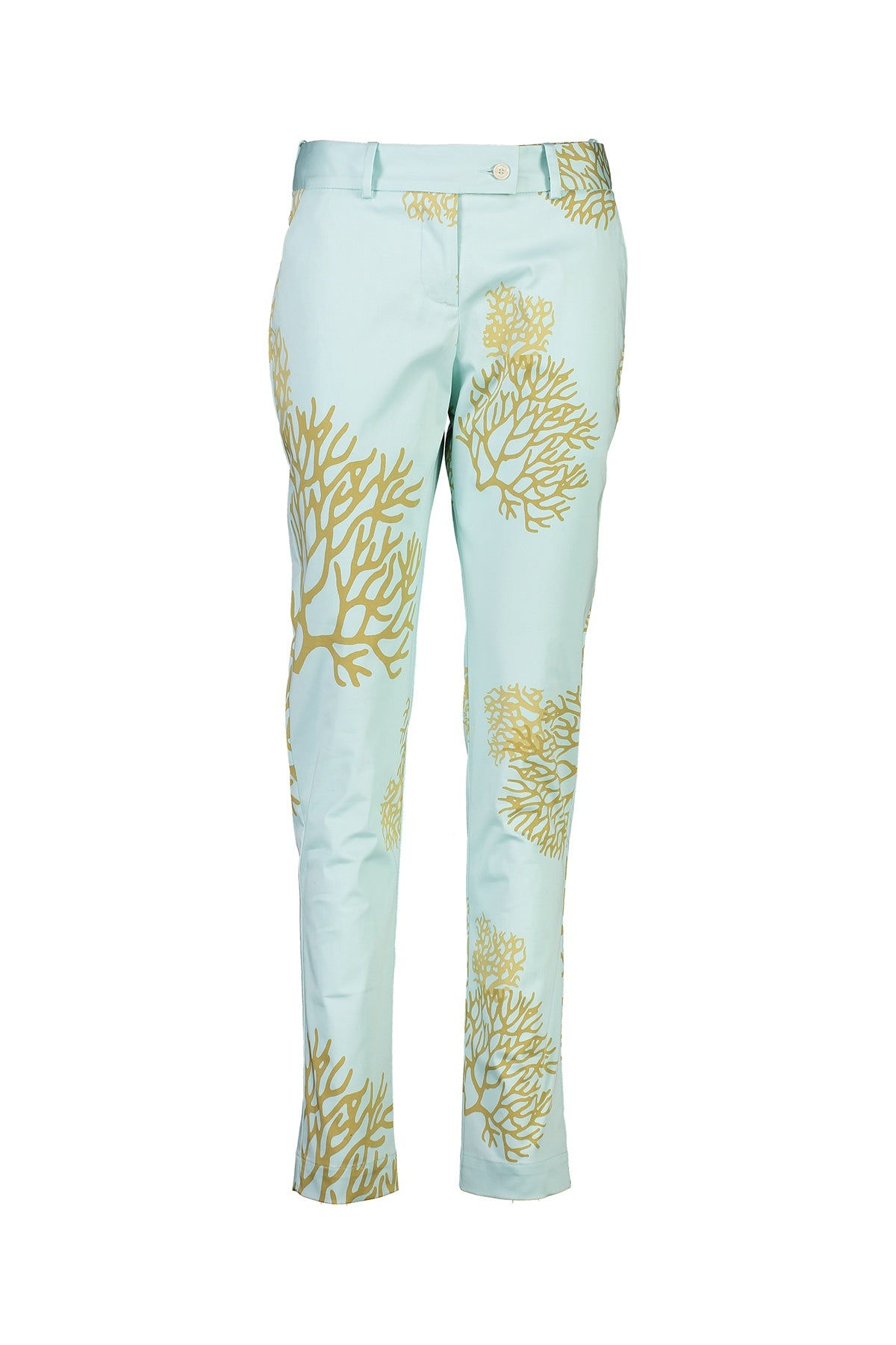 WORLD 4517 Two Wrongs Trouser Mint Coral