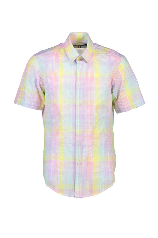 WORLDman 4404 Surely Not S/S Shirt Pastel Check