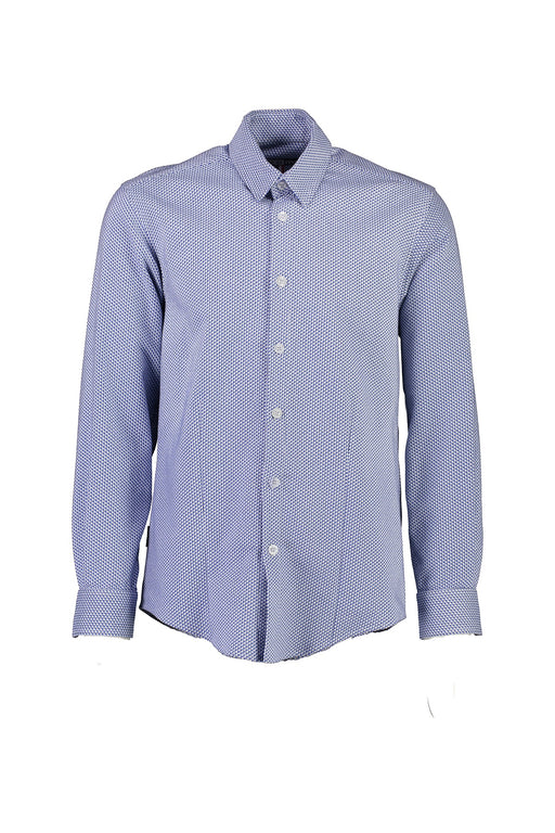 WORLDman 4560 Perverse Shirt Blue Houndstooth