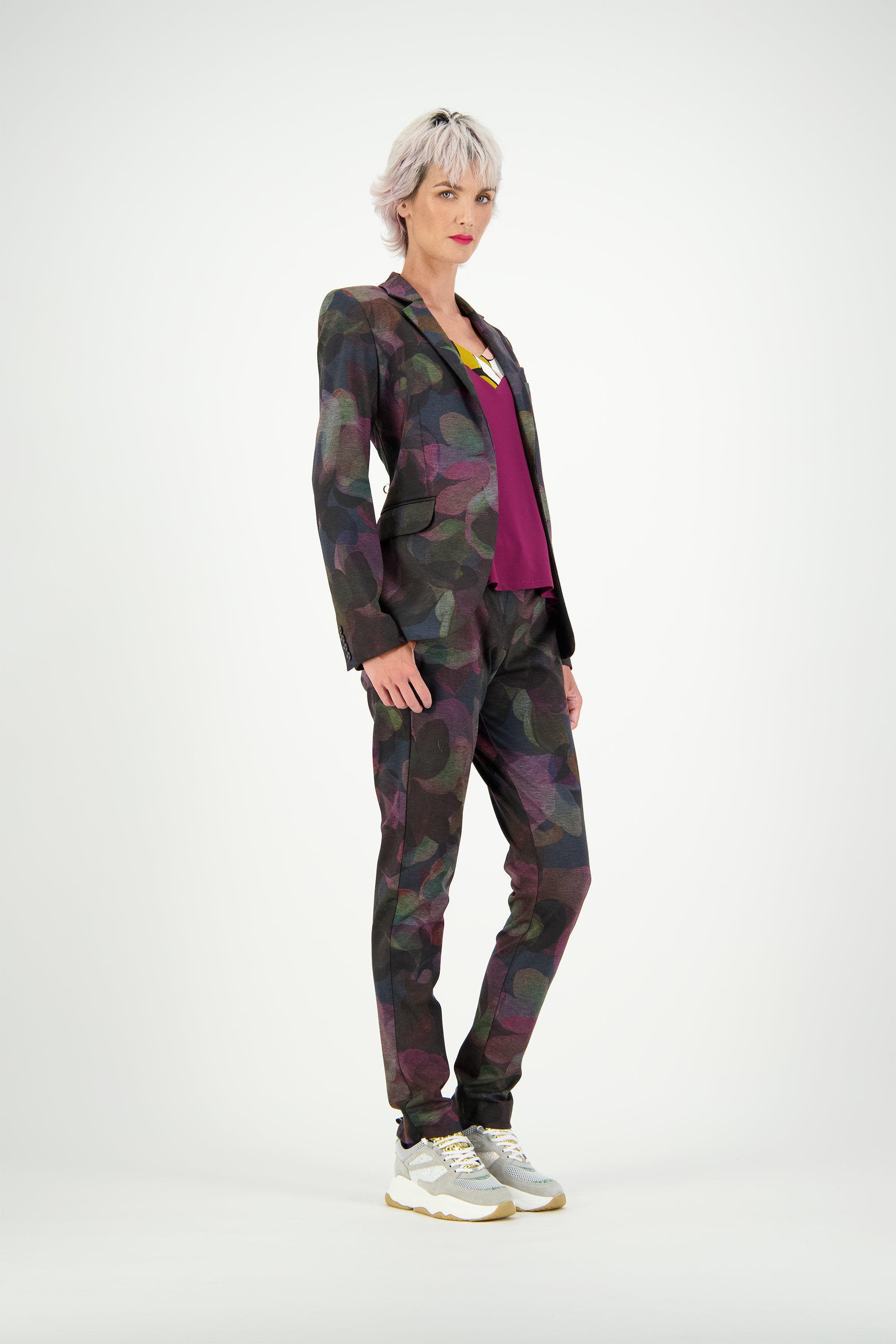 WORLD 4674 Sporting Trouser Floral Swirl