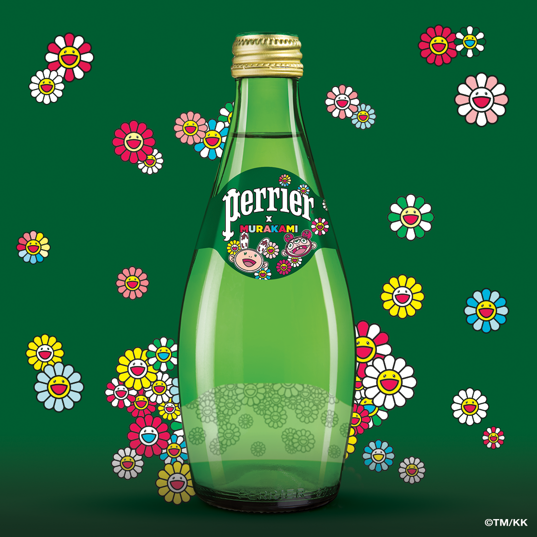 PERRIER® x MURAKAMI Collectable 4 pack 330ml Bottles