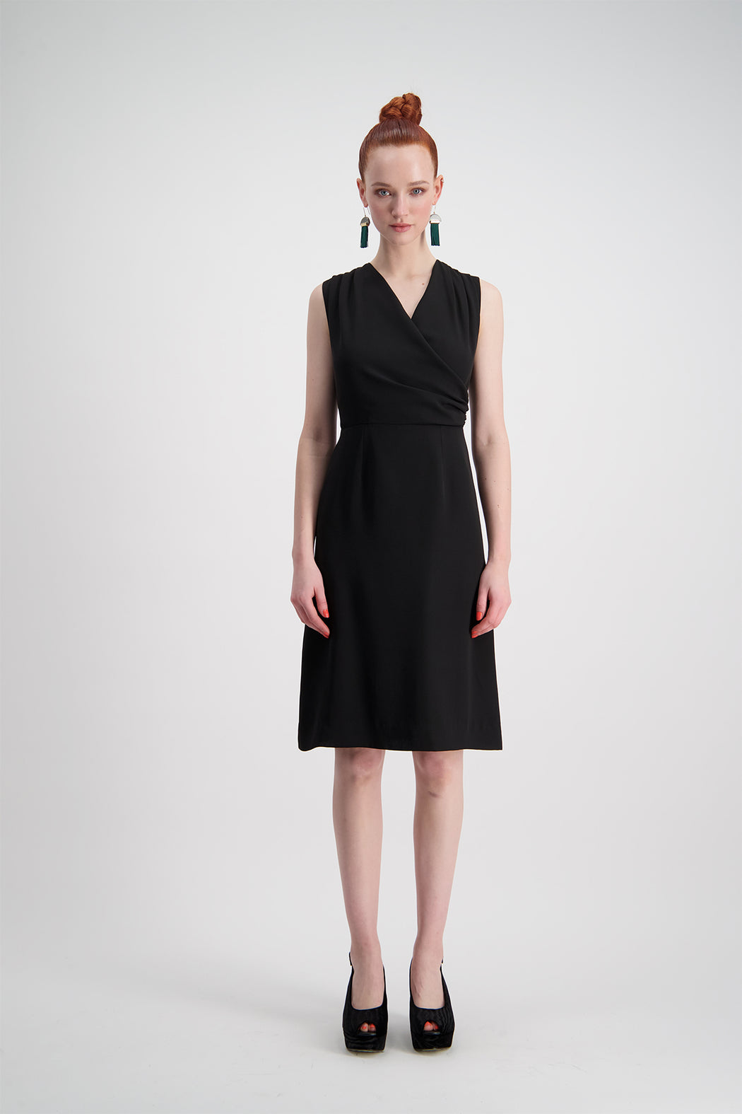 WORLD 4385 Helen of Jersey Dress Black