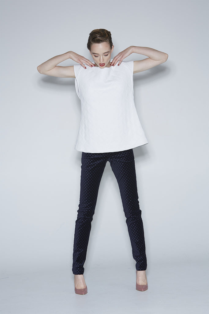 WORLD 3946 L'Estrange Top White