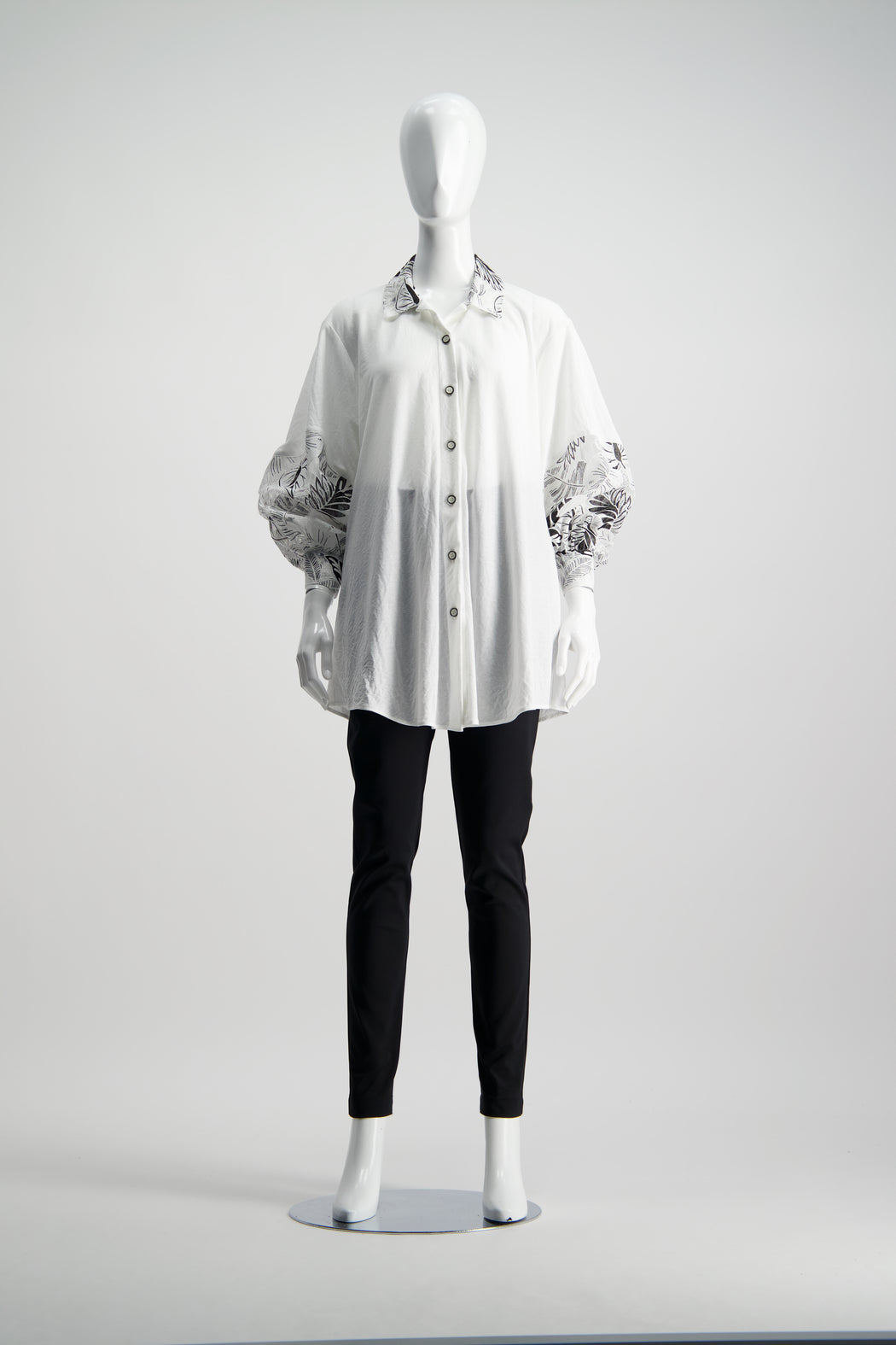 WORLD 4531 Specious Shirt Ivory