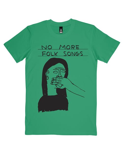 No More Folk Songs T-shirt x David Shrigley