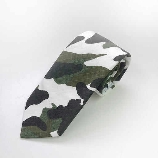 WORLD Tie - Cotton Camo
