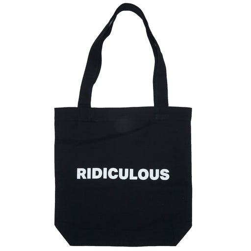 Vol.1 Ridiculous Tote Bag - Blackish