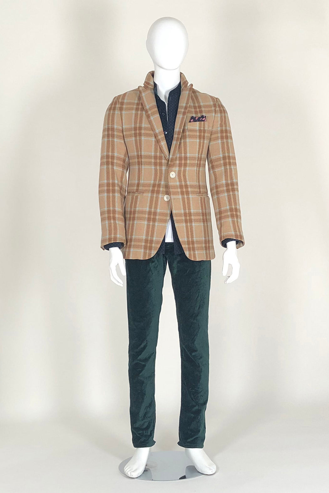 WORLDman 4652 Tarkovsky Blazer Brown Check