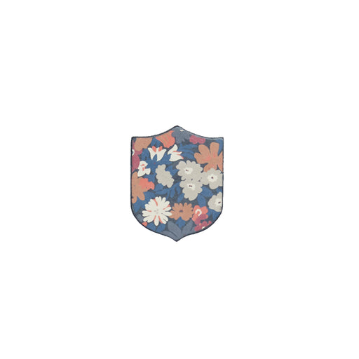WORLD Liberty Leather Badge - Floral