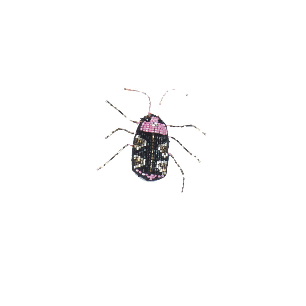 WORLD Small Bug Brooch - Pink