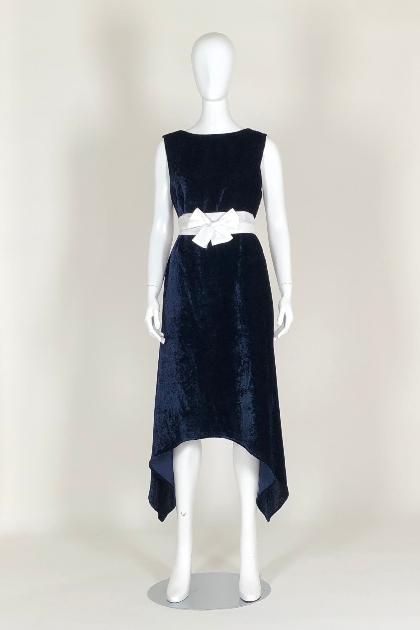 WORLD 4609 Tenet Dress Indigo Velvet