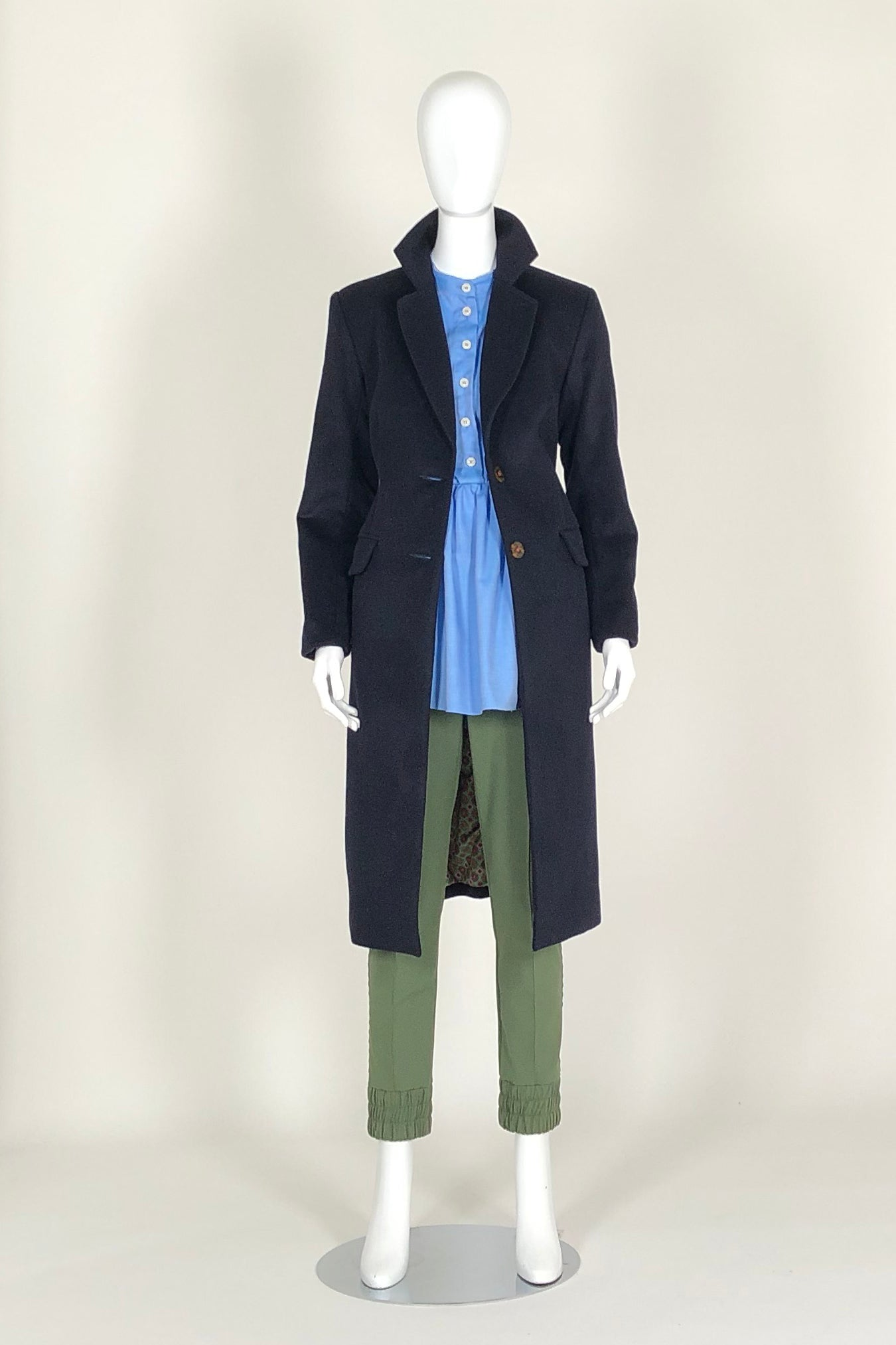 WORLD 4604 Homesick Coat Navy