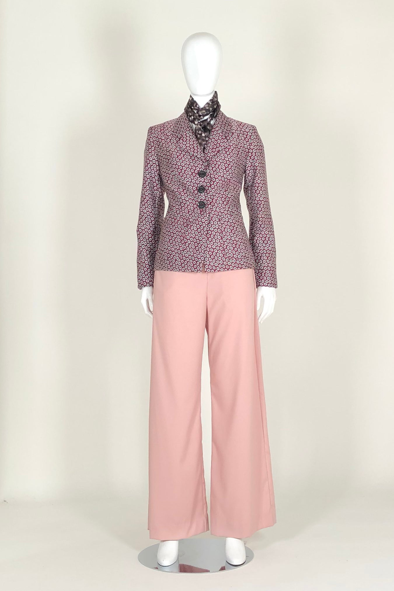 WORLD 4585 Nostos Trouser Pink