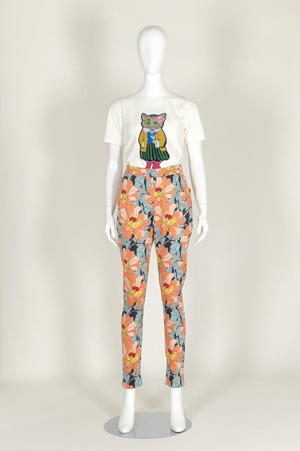 WORLD 4589 Longing Pant Floral
