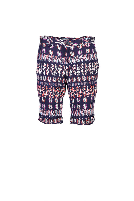 WORLDman 4406 Super Freak Short Navy Fern Knit