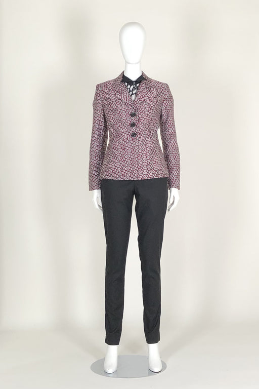 WORLD 4584 Nostos Blazer Red Pattern