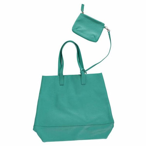 WORLD Auckland Tote Bag Teal