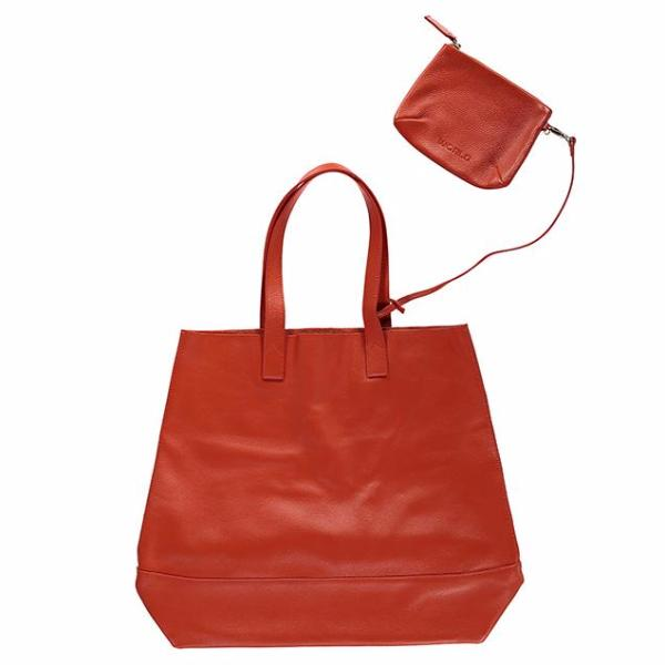 WORLD Auckland Tote Bag Tangerine