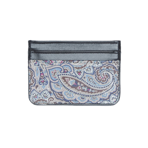 WORLD Liberty Leather Card Holder - Paisley