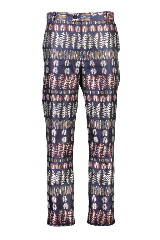 WORLDman 4403 Stallone Trouser Metallic Navy Fern