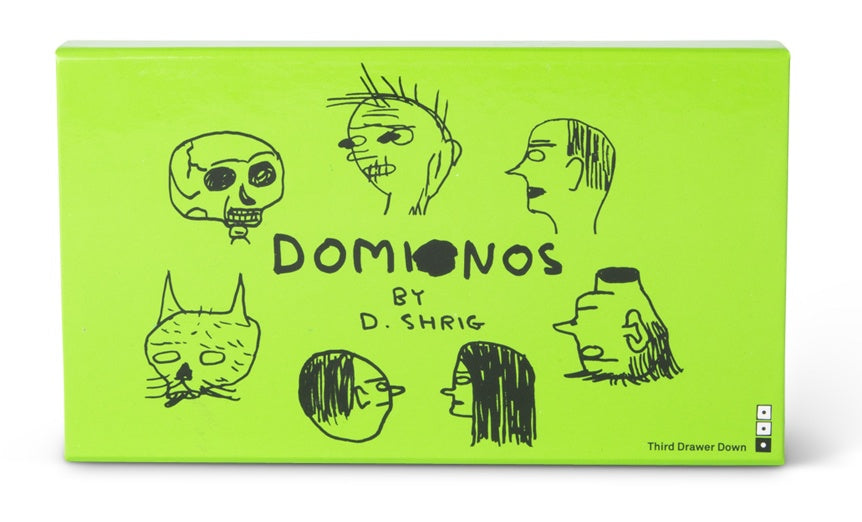 Domino Set x David Shrigley - Edition 2
