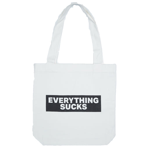Vol.1 Everything Sucks Tote Bag - Creamish