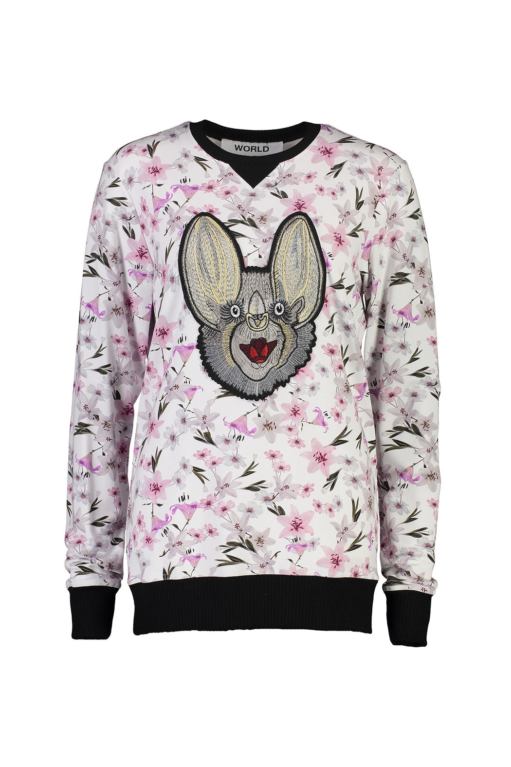WORLD 4502 The Lover Jumper (Unisex) Floral