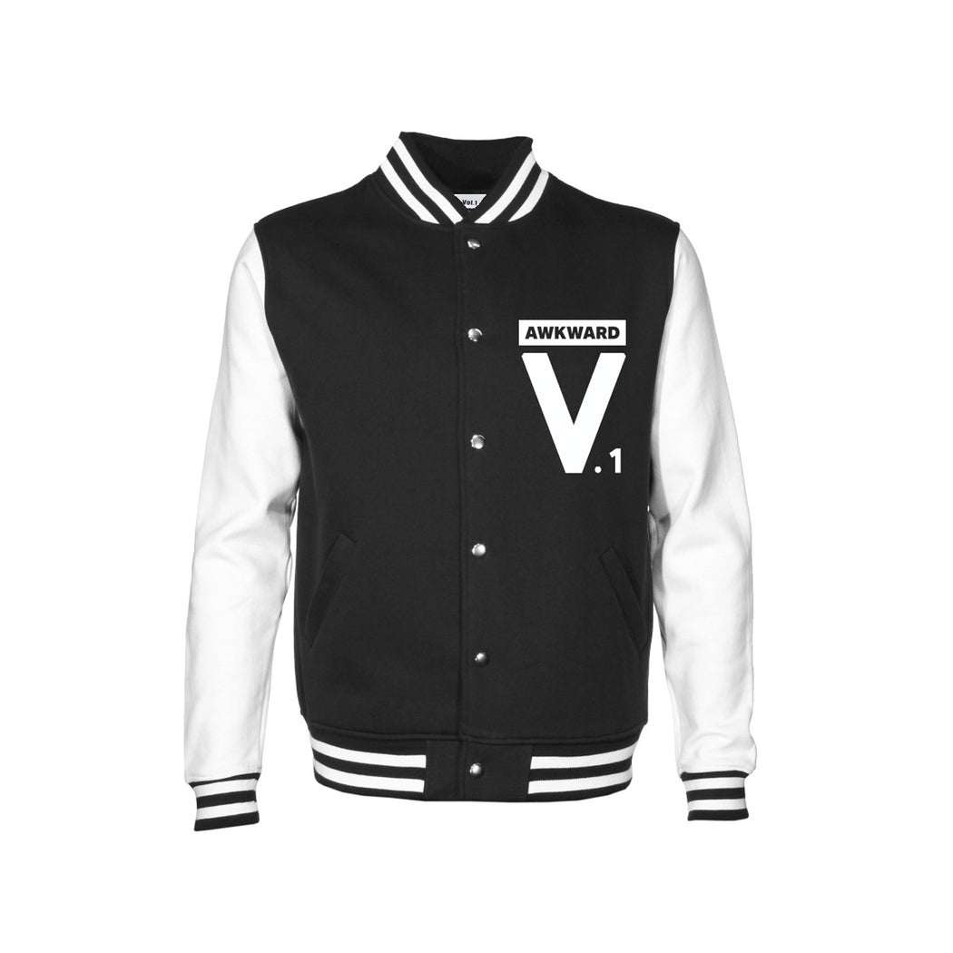 Vol.1 Awkward Jacket Blackish & Whiteish - Unisex