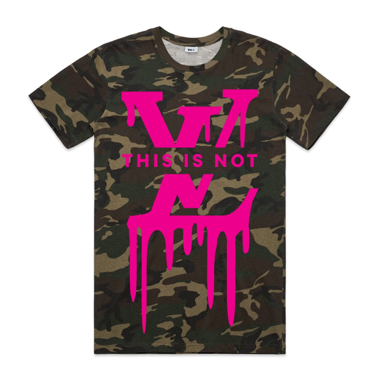 Vol.1 This Is Not LV T Camoish - Unisex