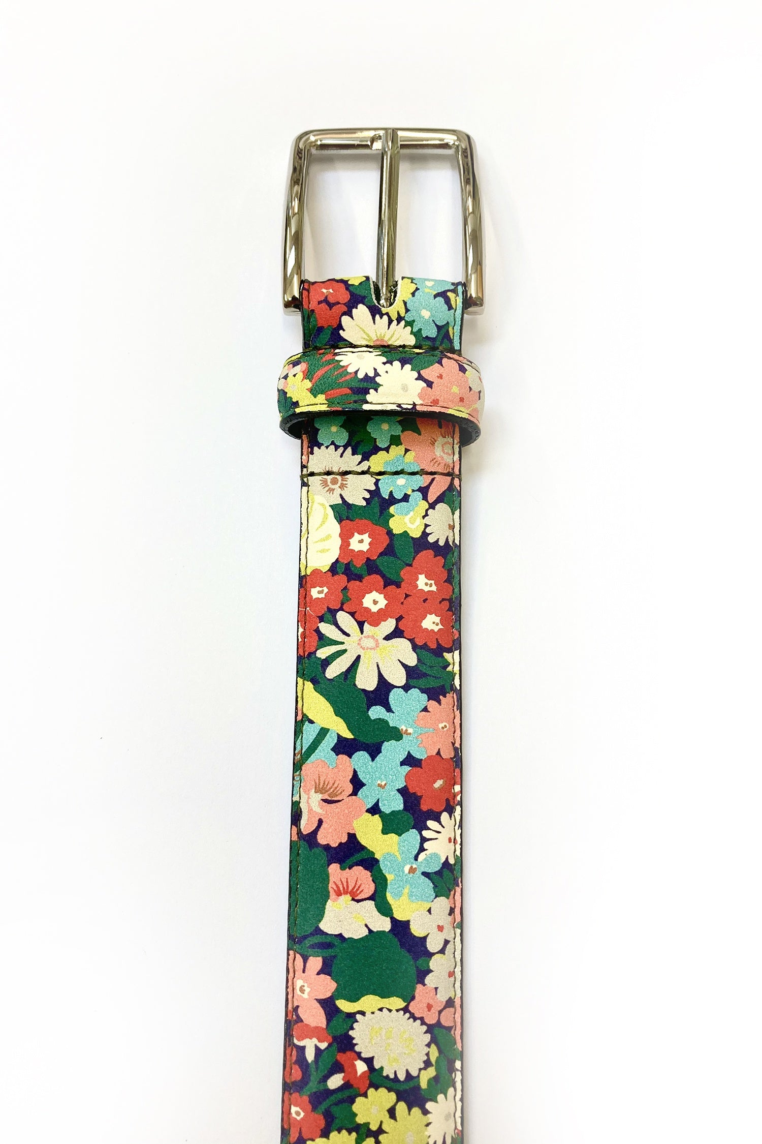 WORLD Liberty Leather Belt - Happy Floral