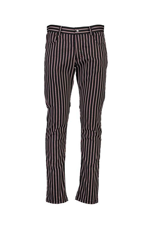 WORLDman 4564 Virtuous Jean Black Red Stripe