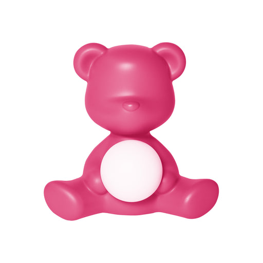 Qeeboo Teddy Girl Rechargeable Lamp Fuxia