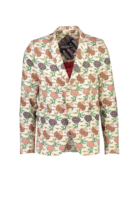 WORLDman 4402 Travolta Blazer Cream Floral