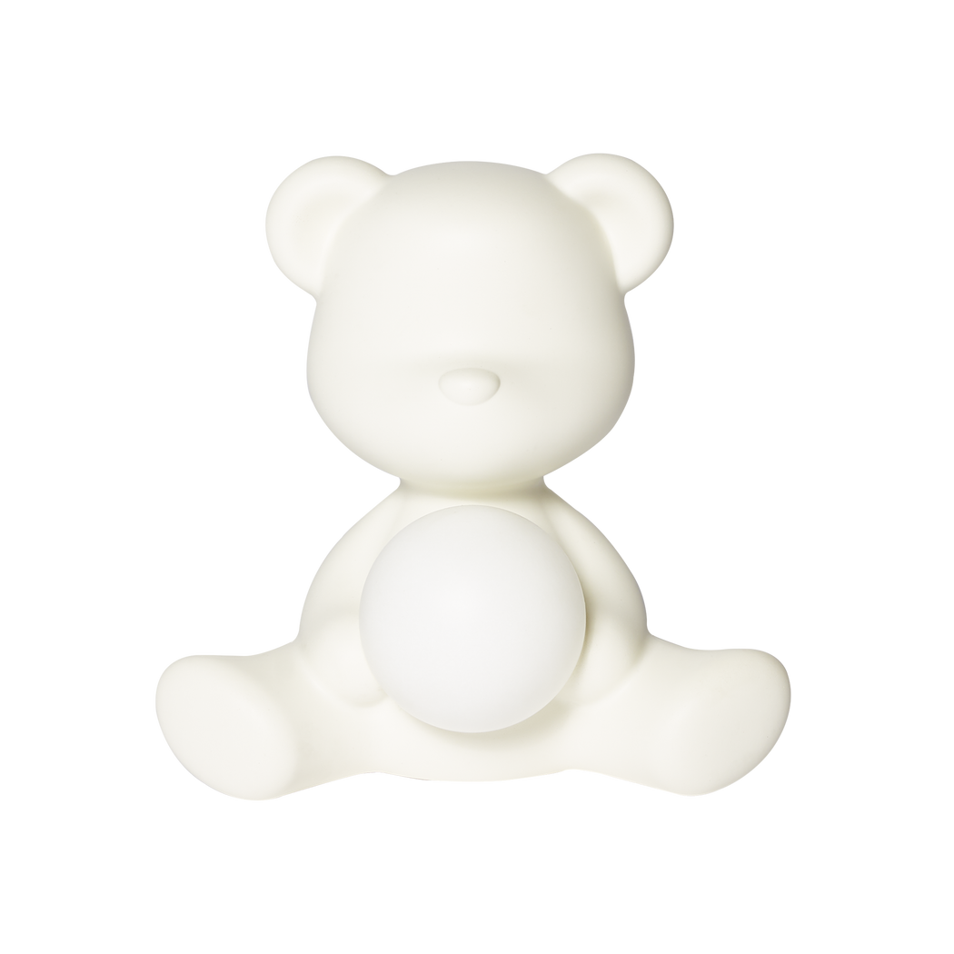Qeeboo Teddy Girl Rechargeable Lamp White