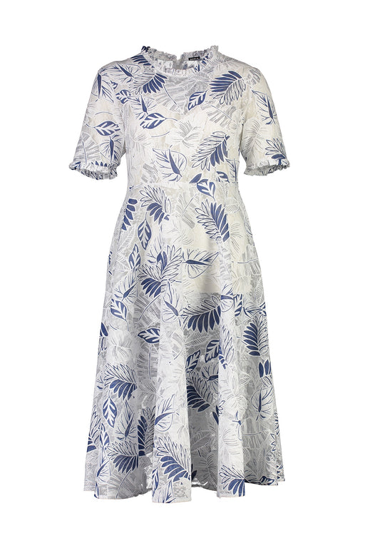 WORLD 4534 Proper Dress Navy Floral